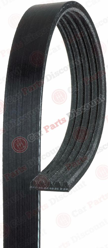 Gates Fan Drive Belt For BMW Citroen Fiat Ford Mazda Peugeot Toyota 5PK1023