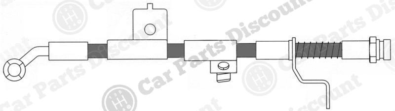 Beck Arnley Disc Brake Hardware Kit 084-1722