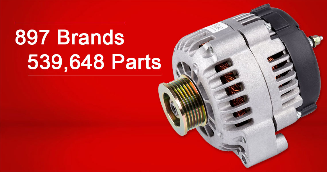 897 brands and 539,648 parts