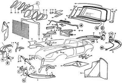 Jaguar Parts Diagram